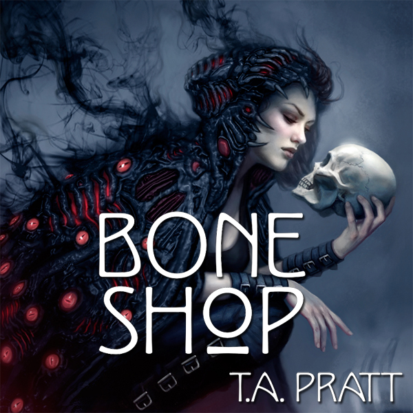 Bone Shop Audible Cover