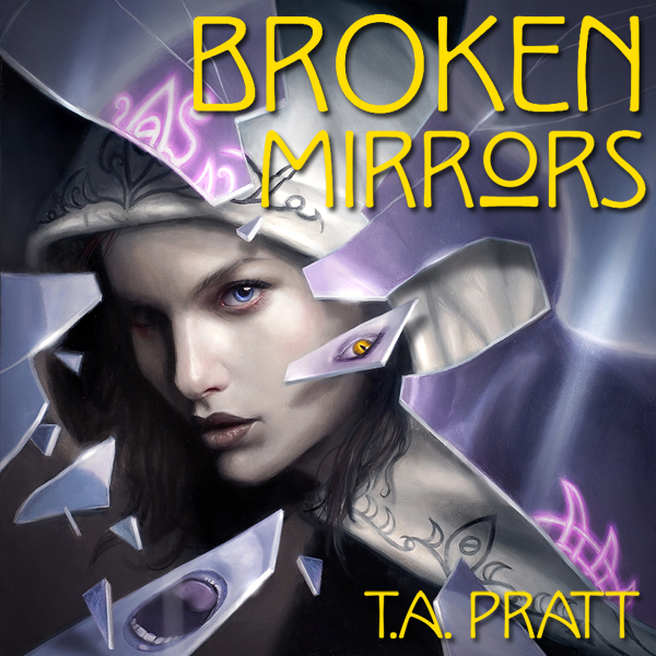 Broken Mirrors Audible Cover